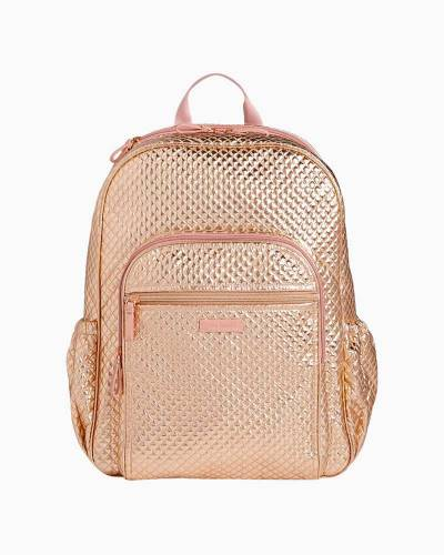 Iconic Campus Backpack in Rose Gold Shimmer