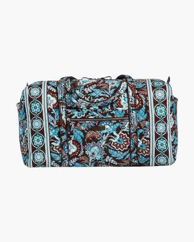 Iconic Large Travel Duffel in Java Blue