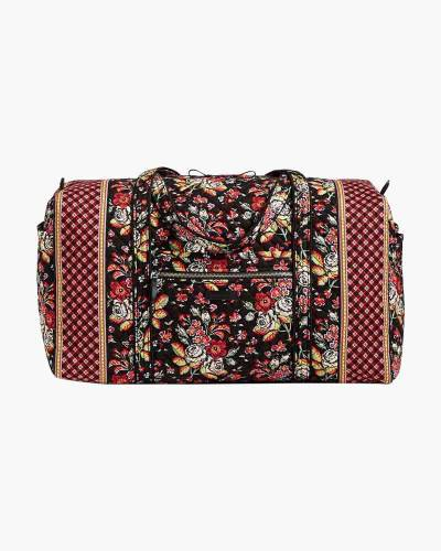 Iconic Large Travel Duffel in Anastasia