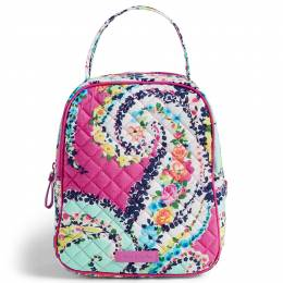 Vera Bradley Iconic Lunch Bunch in Wildflower Paisley