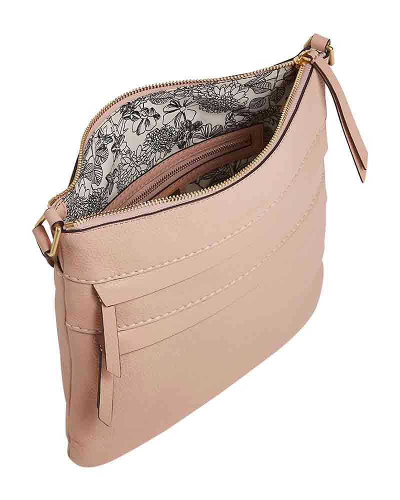 8cad81637bd4 Mallory Triple Zip Hipster in Pink Sand Alternate View