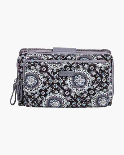 Iconic Deluxe All Together Crossbody in Charcoal Medallion
