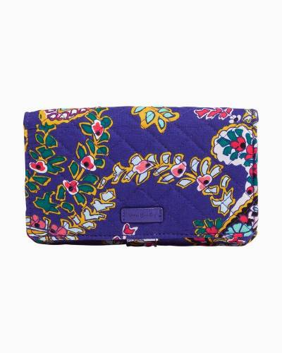 Iconic RFID All Together Crossbody in Romantic Paisley