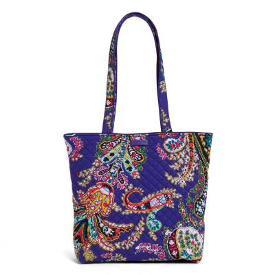 Iconic Tote Bag in Romantic Paisley