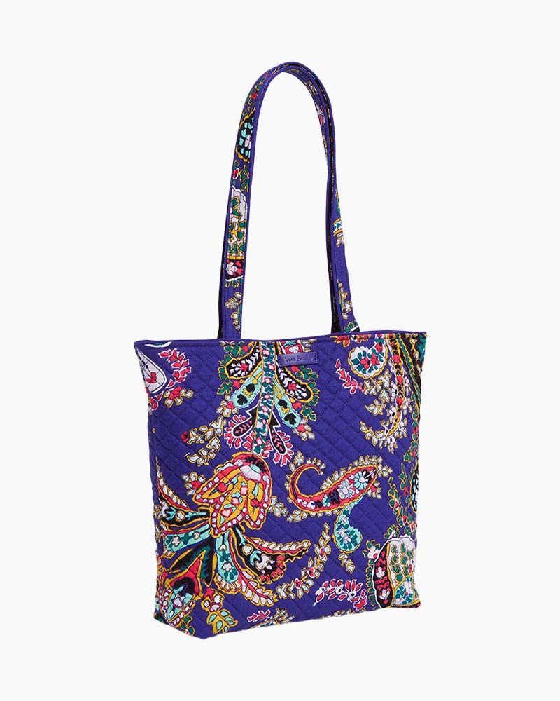 Vera Bradley Iconic Tote Bag in Romantic Paisley | The Paper Store