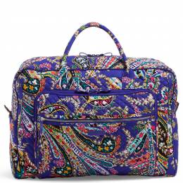 Vera Bradley Iconic Grand Weekender Travel Bag in Romantic Paisley