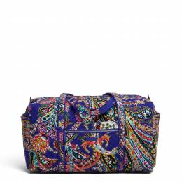 Vera Bradley Iconic Large Travel Duffel in Romantic Paisley