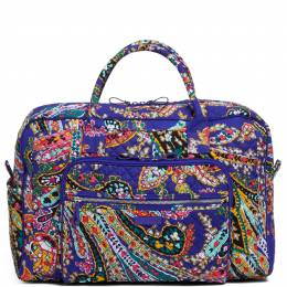 Vera Bradley Iconic Weekender Travel Bag in Romantic Paisley