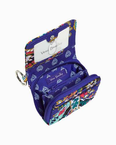 Iconic RFID Card Case in Romantic Paisley