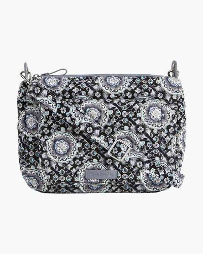 Carson Mini Shoulder Bag in Charcoal Medallion
