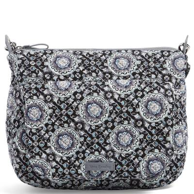 Carson Shoulder Bag in Charcoal Medallion