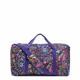 Vera Bradley Lighten Up Large Travel Duffel in Petite Paisley