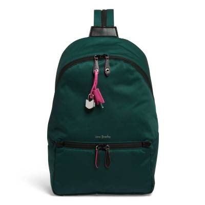 Midtown Convertible Backpack in Midtown Woodland Green