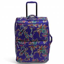Vera Bradley Lighten Up Large Foldable Roller in Paisley Swirls