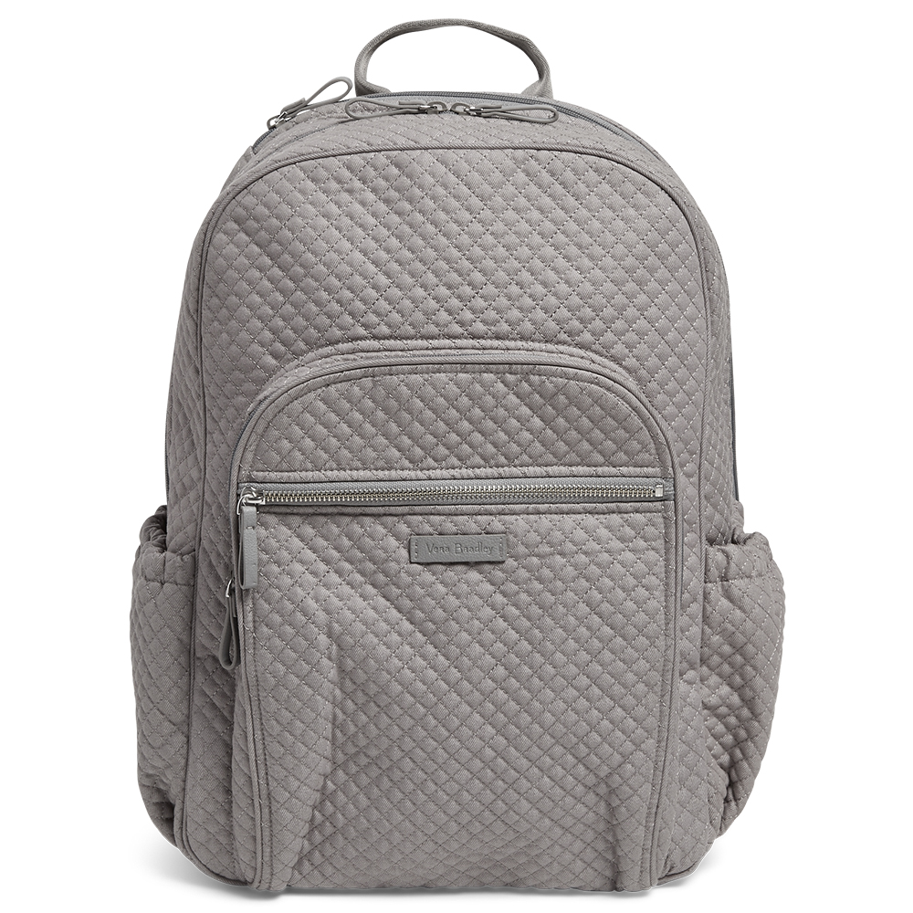7c64eee199 Vera Bradley Iconic Campus Backpack in Denim Gray
