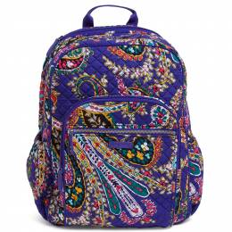 Vera Bradley Iconic Campus Backpack in Romantic Paisley