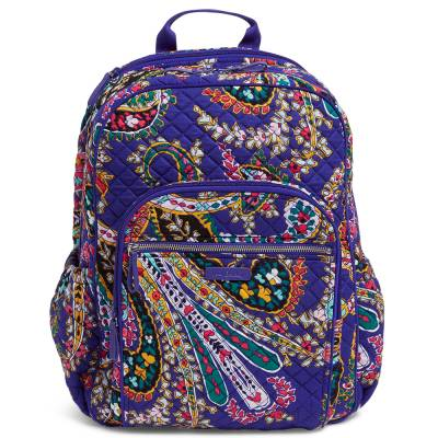 Iconic Campus Backpack in Romantic Paisley