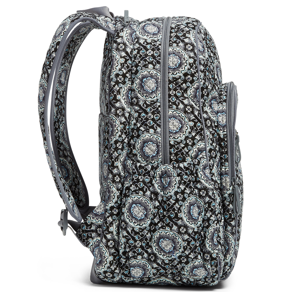 Iconic Campus Backpack in Charcoal Medallion Alternate View e80f7dcef59a5