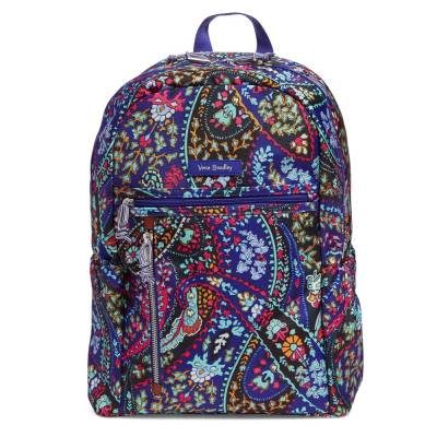 Lighten Up Study Hall Backpack in Petite Paisley