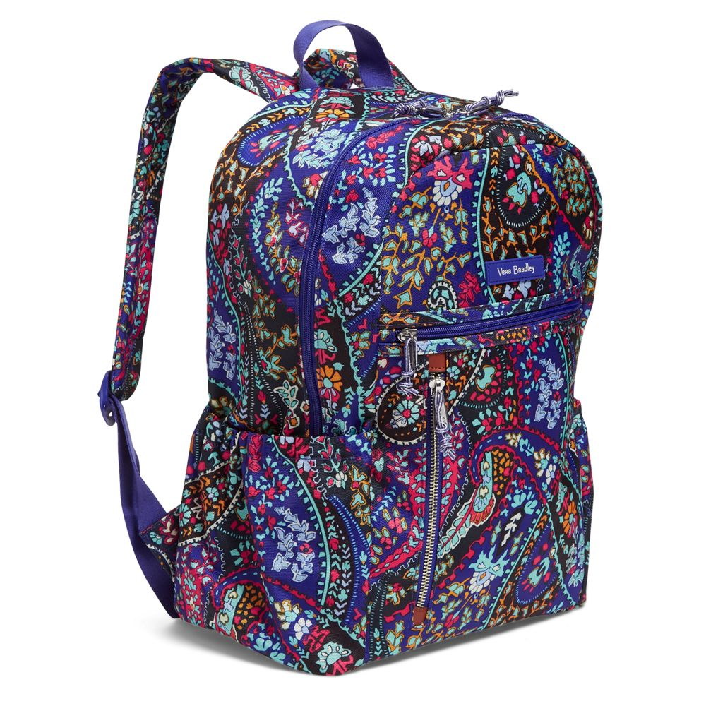 Lighten Up Study Hall Backpack In Pee Paisley Alternate View