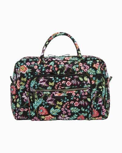 31809aadd8 Vera Bradley Iconic Weekender Travel Bag in Vines Floral
