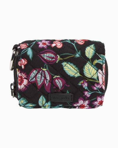 Iconic RFID Card Case in Vines Floral