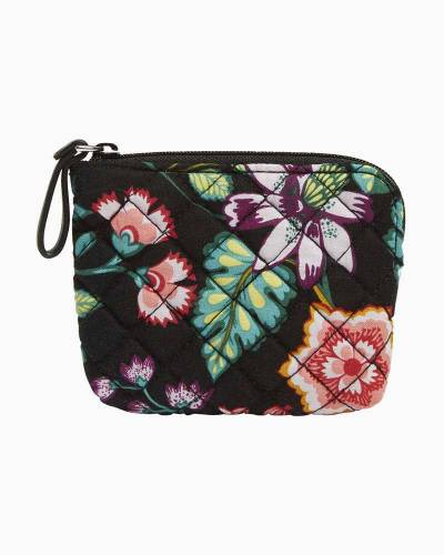 Iconic Coin Purse in Vines Floral