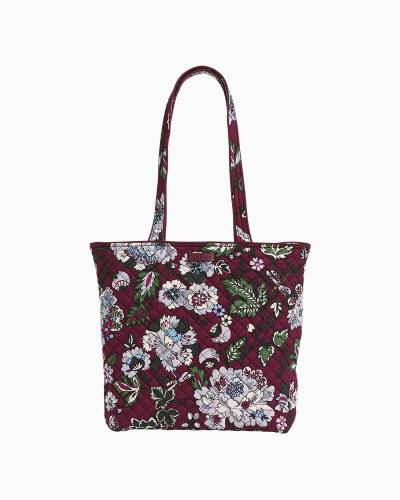 Iconic Tote Bag in Bordeaux Blooms