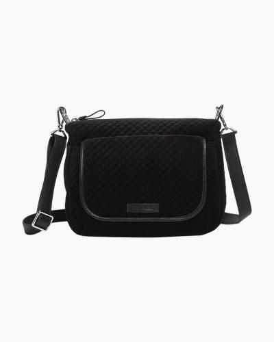 Carson Mini Shoulder Bag in Velvet Black