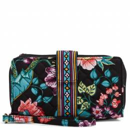 Vera Bradley Iconic RFID Combo Wristlet in Vines Floral