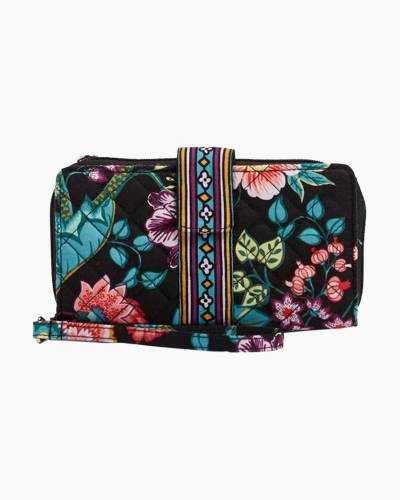 Iconic RFID Combo Wristlet in Vines Floral