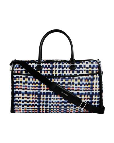 Iconic Convertible Garment Bag in Abstract Blocks