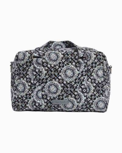 Iconic 100 Handbag in Charcoal Medallion