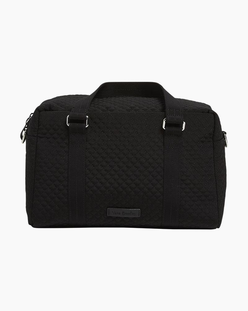 0512f6505d Vera Bradley Iconic 100 Handbag in Microfiber Classic Black