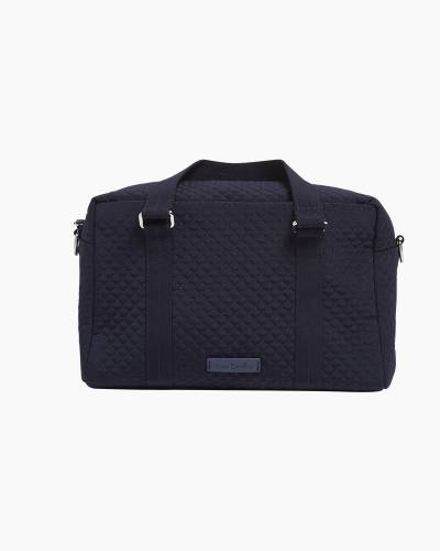 Iconic 100 Handbag in Microfiber Classic Navy