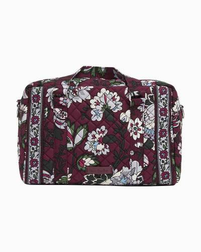 Iconic 100 Handbag in Bordeaux Blooms