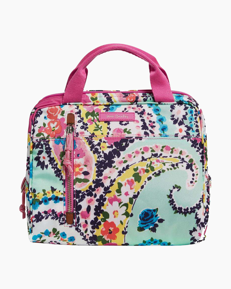 Vera Bradley Lunch Cooler in Wildflower Paisley  31113f301fc81