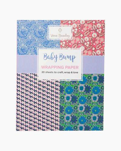 Baby Bump Wrapping Paper Book