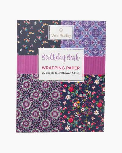 Birthday Bash Wrapping Paper Book