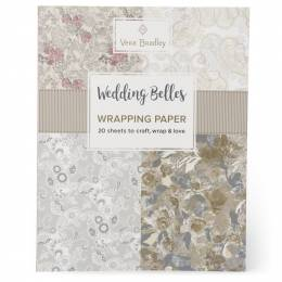 Vera Bradley Wedding Belles Wrapping Paper Book