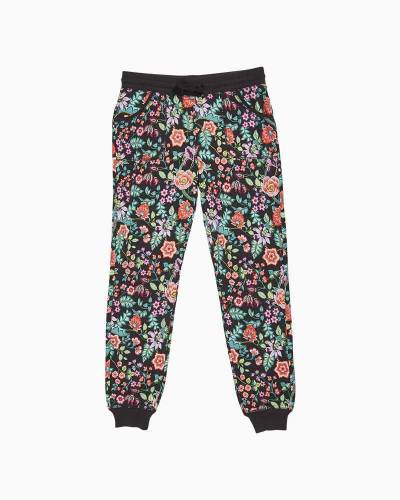 Pajama Pants in Vines Floral
