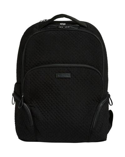 Iconic Backpack in Microfiber Classic Black