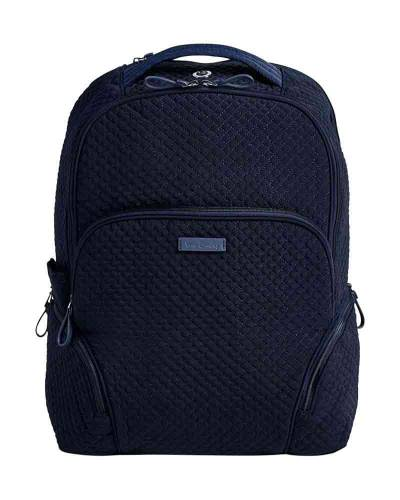 Iconic Backpack in Microfiber Classic Navy