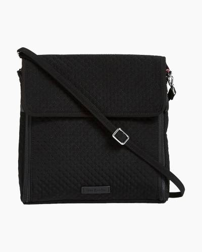 Iconic Baby Organizer Crossbody in Microfiber Classic Black