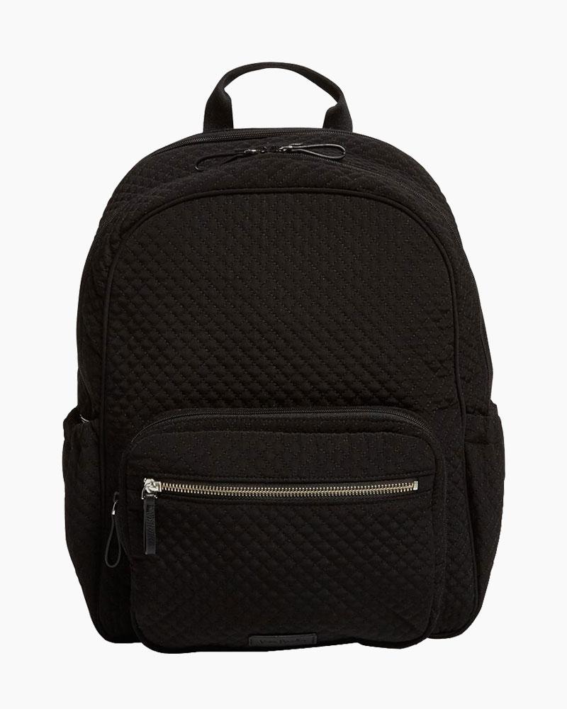 e0e4726e3399 Vera Bradley Iconic Backpack Diaper Bag in Microfiber Classic Black ...