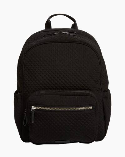 Iconic Backpack Diaper Bag in Microfiber Classic Black