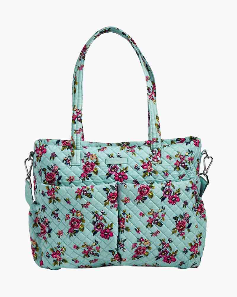 Iconic Ultimate Diaper Bag In Water Bouquet