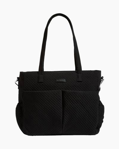 Iconic Ultimate Diaper Bag in Microfiber Classic Black