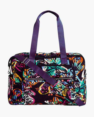Iconic Deluxe Weekender Travel Bag in Butterfly Flutter