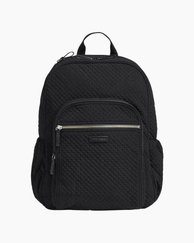 Iconic Campus Backpack in Microfiber Classic Black